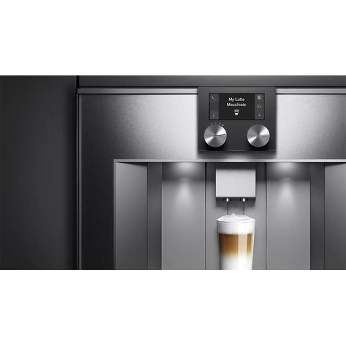 400 Series Fully Automatic Coffee Machine Stainless Steel-backed Full Glass Door