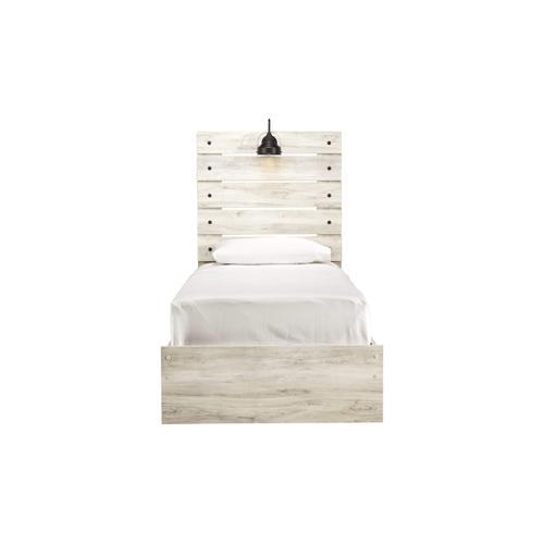 Ashley Furniture - ASHLEY B192-53-52-83 Cambeck - Whitewash Twin Panel Bed