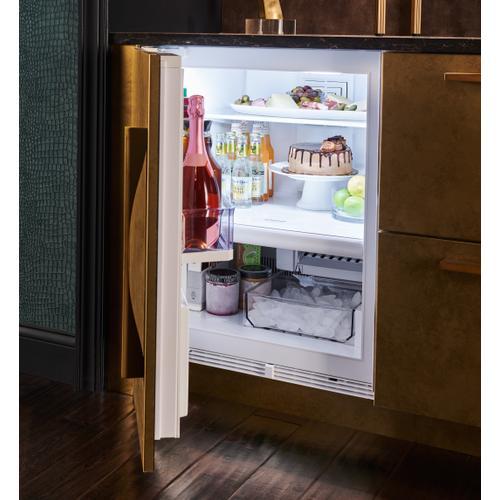 "Sub-Zero - 24"" Designer Undercounter Refrigerator/Freezer with Ice Maker - Panel Ready"