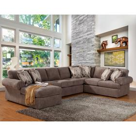 Brandon 3 Pc. Sectional Pewter