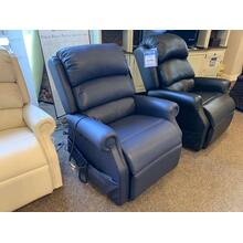 Navy Blue Decompression & Lift Chair