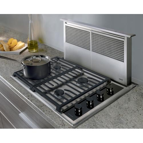 """Wolf - 30"""" Transitional Gas Cooktop - 4 Burners"""