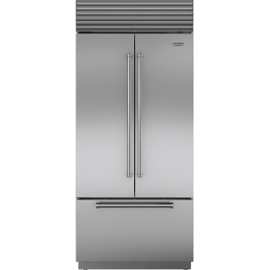 "Subzero36"" Classic French Door Refrigerator/Freezer with Internal Dispenser"