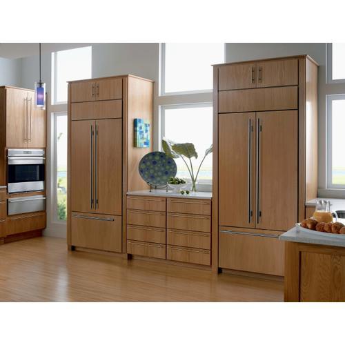 "Sub-Zero - 36"" Classic French Door Refrigerator/Freezer with Internal Dispenser - Panel Ready"