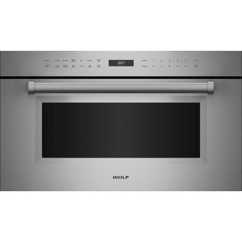 """Wolf - 30"""" M Series Professional Drop-Down Door Microwave Oven"""