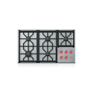 """Wolf - 36"""" Professional Gas Cooktop - 5 Burners"""