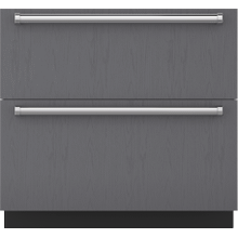 "See Details - 36"" Designer Refrigerator Drawers - Panel Ready"