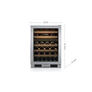 "Sub-Zero - Sub-Zero UW24FSSTHRH  Legacy Model - 24"" Freestanding Undercounter Wine(Scratch)"