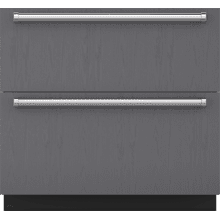"See Details - 36"" Designer Refrigerator/Freezer Drawers - Panel Ready"