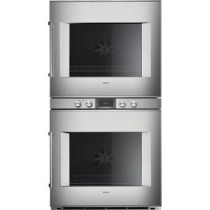 Gaggenau400 Series Double Oven 30'' Door Hinge: Right, Door Hinge: Right, Stainless Steel Behind Glass