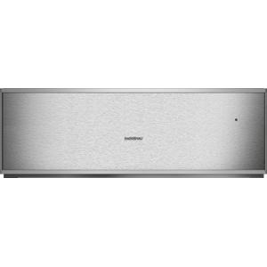Gaggenau400 Series Warming Drawer 24'' Stainless Steel Behind Glass