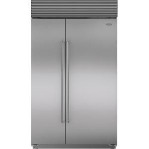 "Sub-Zero48"" Classic Side-by-Side Refrigerator/Freezer with Internal Dispenser"
