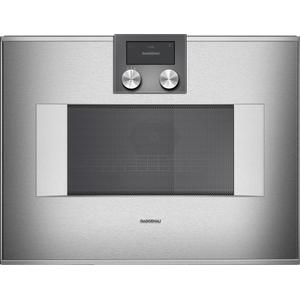 Gaggenau400 Series Combi-microwave Oven 24'' Door Hinge: Right, Door Hinge: Right, Stainless Steel Behind Glass