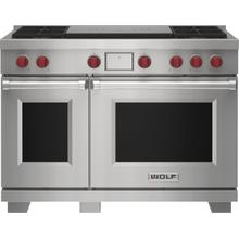 """See Details - 48"""" Dual Fuel Range - 4 Burners and French Top"""