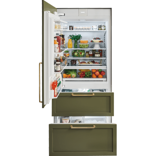 "Sub-Zero - 36"" Designer Over-and-Under Refrigerator/Freezer with Ice Maker - Panel Ready"