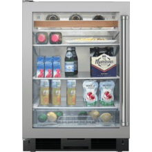 "Legacy Model - 24"" Undercounter Beverage Center - Stainless Door"