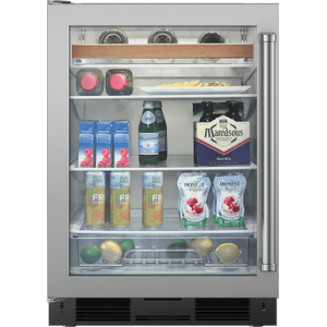 "SubzeroLegacy Model - 24"" Undercounter Beverage Center - Stainless Door"