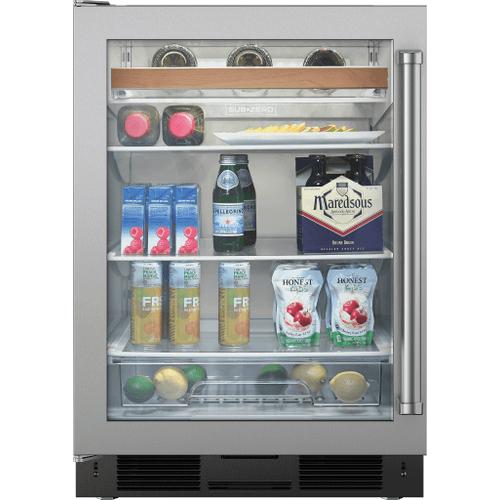 "Legacy Model - 24"" Undercounter Beverage Center - Stainless Door"