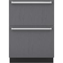 "See Details - 24"" Designer Refrigerator Drawers - Panel Ready"