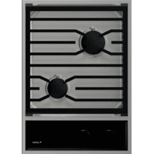 """See Details - 15"""" Transitional Gas Cooktop"""