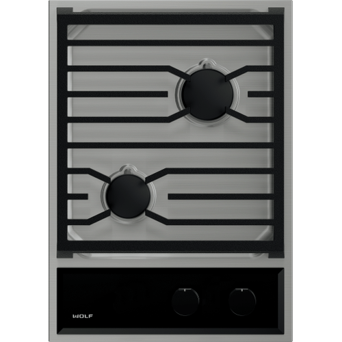 """Wolf - 15"""" Transitional Gas Cooktop"""