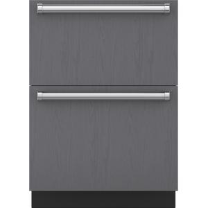 "Subzero24"" Designer Refrigerator Drawers - Panel Ready"