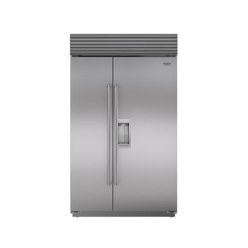 "Sub-Zero - 48"" Classic Side-by-Side Refrigerator/Freezer with Dispenser"