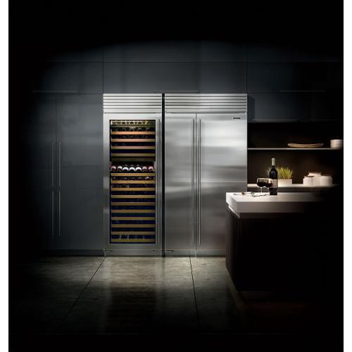 "Sub-Zero - 48"" Classic Side-by-Side Refrigerator/Freezer with Internal Dispenser"
