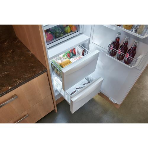 "Sub-Zero - 24"" Designer Column Refrigerator/Freezer with Ice Maker - Panel Ready"