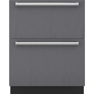 "Subzero27"" Designer Refrigerator Drawers - Panel Ready"