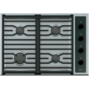 """Wolf30"""" Transitional Gas Cooktop - 4 Burners"""