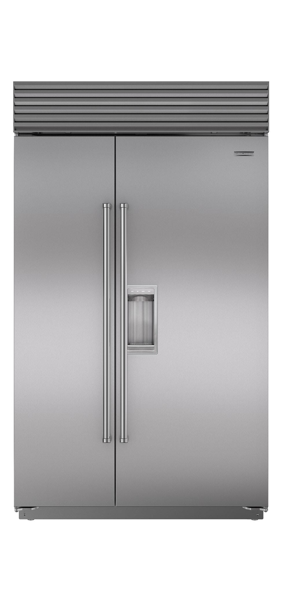 """Subzero48"""" Classic Side-By-Side Refrigerator/freezer With Dispenser"""