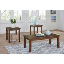 3-Piece Langston Dark Oak Occassional Tables