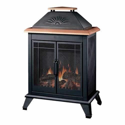 Dimplex - Dimplex Deck Outdoor Fireplace