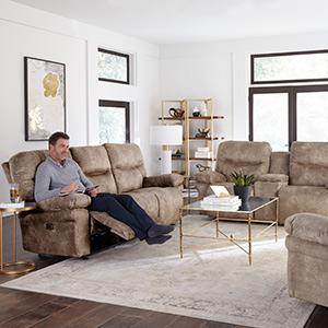 Leya Reclining Sofa