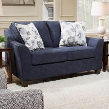 View Product - Prelude Navy Loveseat