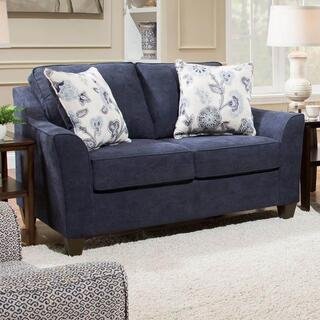 Prelude Navy Loveseat