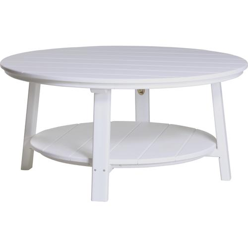 Deluxe Conversation Table White
