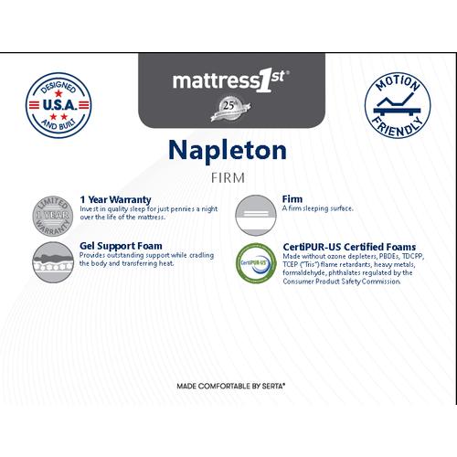 Napleton All Foam - Napleton - All Foam - Full Mattress Only