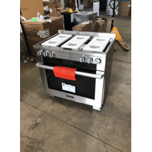 View Product - 36 inch range Dual Fuel with M Touch controls, Moisture Plus and M Pro dual stacked burners