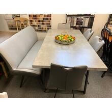 5 Piece Formica Set with Optional Bench