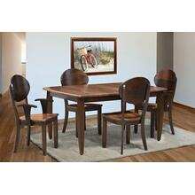 Helvetica Amish Custom Dining Set
