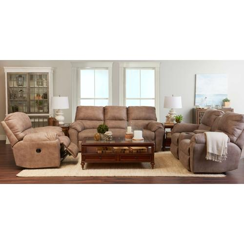 Double Reclining Sofa w/Console