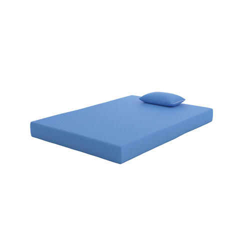 iKidz Blue Mattress and Pillow