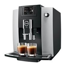 JURA E6 Automatic Coffee Machine, Platinum