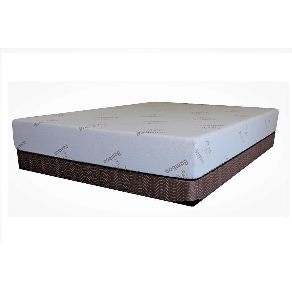 "Memory Foam Bamboo 8"" Mattress Set"