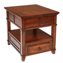 LYNCH End Table in Brown Cherry    (T9905-20,52818