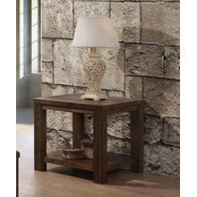 See Details - Harrison Solid Oak End Table