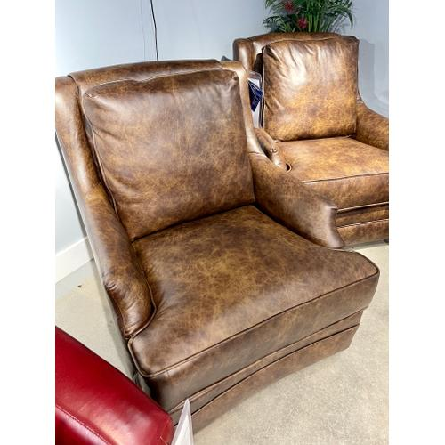 Southern Motion - Eastwood Chaps Leather Swivel Glider