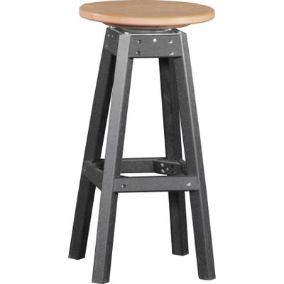 Bar Stool Cedar and Black